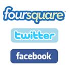 Foursquare hesabınızı Twitter ve Facebook hesaplarınızla nasıl bağlayabilirsiniz?