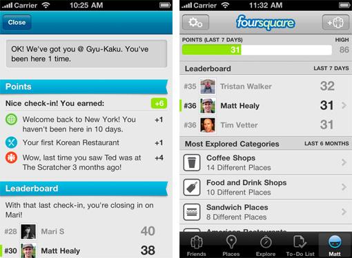 Foursquare Points