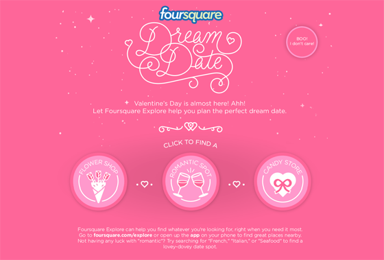 Foursquare-Dream-Date