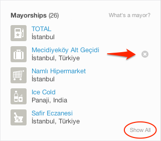Mayor'luklarınızı nasıl silebilirsiniz?