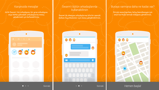 swarm-direct-messaging