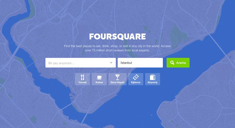 Foursquare-in-web-sitesi-guncellendi